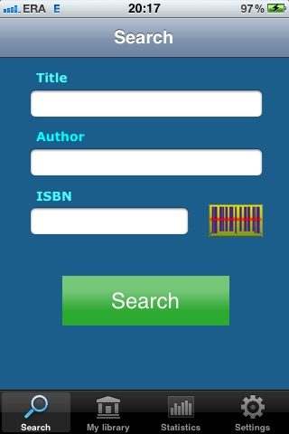 Book Manager with Barcode scanner