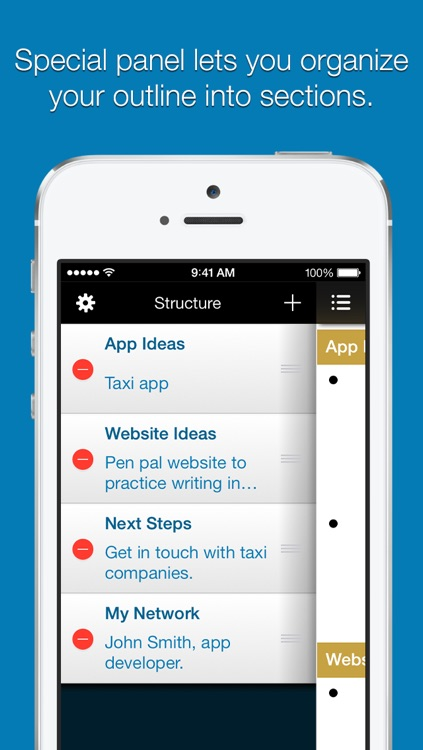 Outline Pro for iPhone