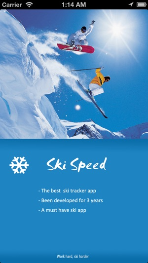 SkiSpeed Screenshot