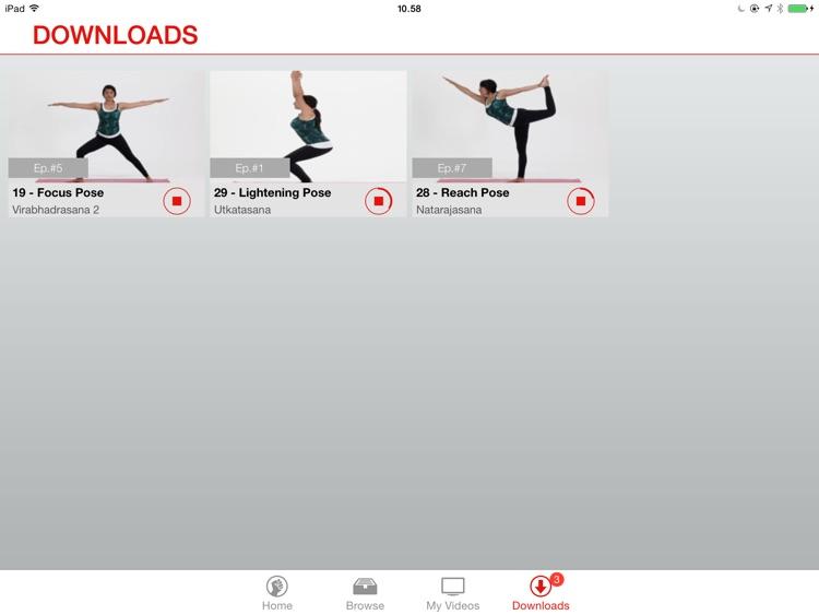 49poses - Children's Yoga Video Lessons for iPad screenshot-4