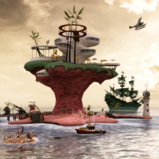 Gorillaz - Escape to Plastic Beach for iPad