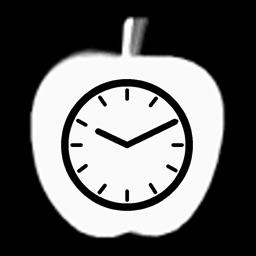 Touhou Bad Apple Clock