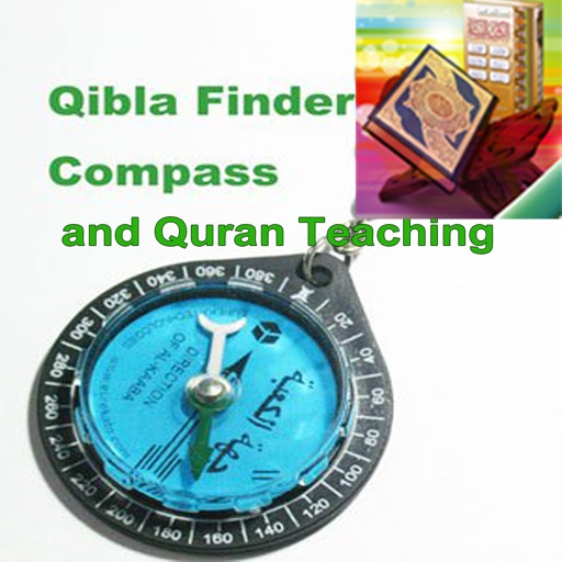 Qibla Finder Compass and Quran Teaching