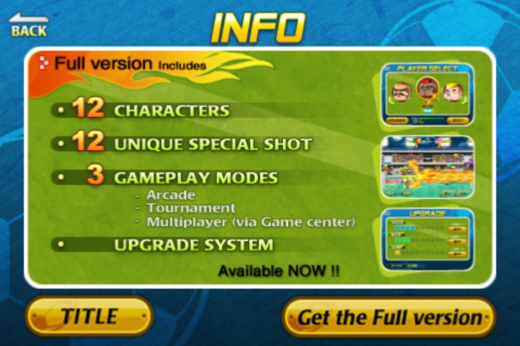 Head Soccer Lite screenshot-3