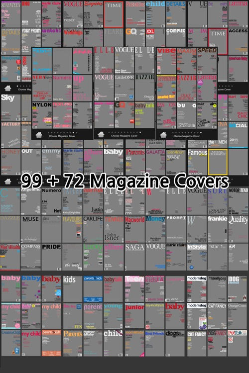 RealCover - Fake magazine covers screenshot-0