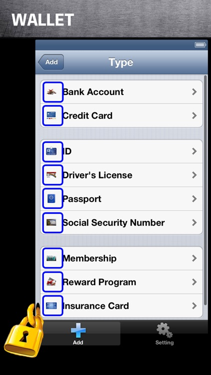Safe Password free for iPhone screenshot-3