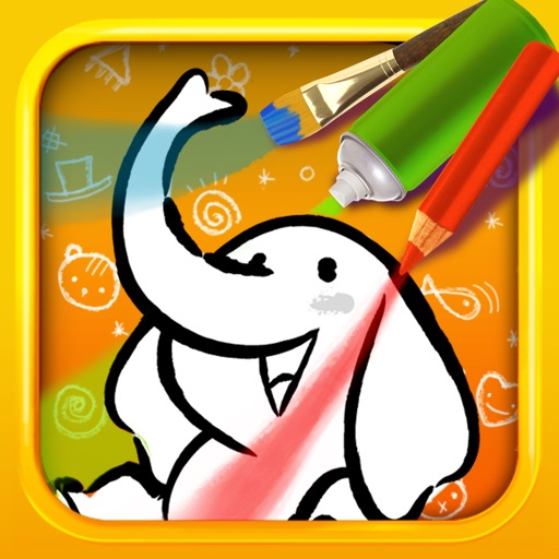 Color & Draw for kids HD: 4 apps in 1 - Coloring Book for iPad by Tipitap  Inc