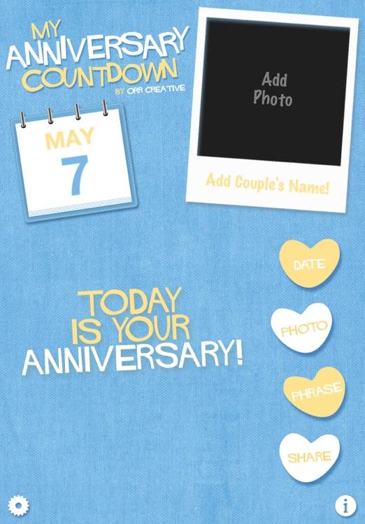 My Anniversary Countdown