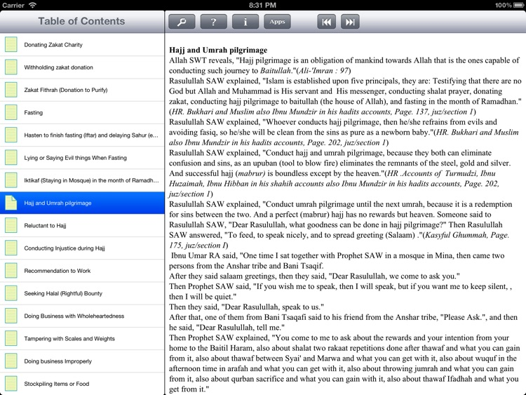 iTaqwa for iPad screenshot-3