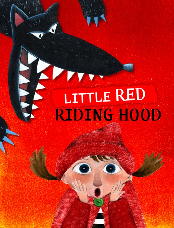the evolution of the version of the tale of little red riding hood throughout the ages The stinky cheese man and in the 10th year anniversary edition of the stinky cheese man, the version the little red riding shorts is little red riding hood.