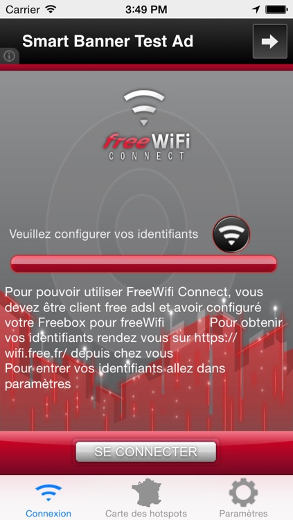 FreeWifi Connect