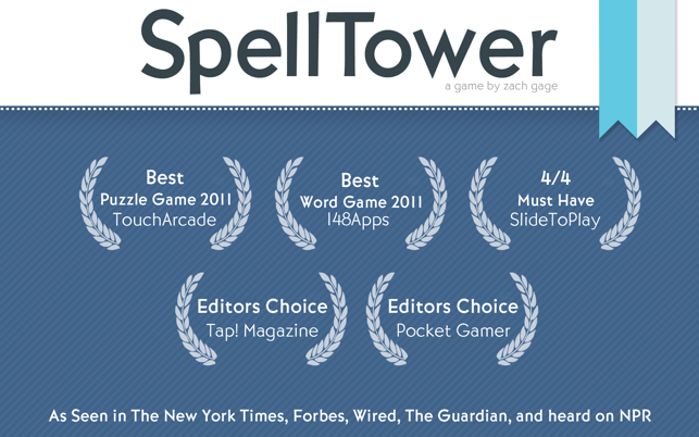 ‎SpellTower Classic Screenshot