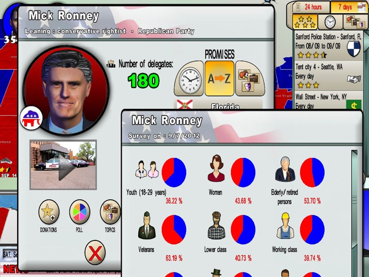 The Race for the White House game screenshot-3