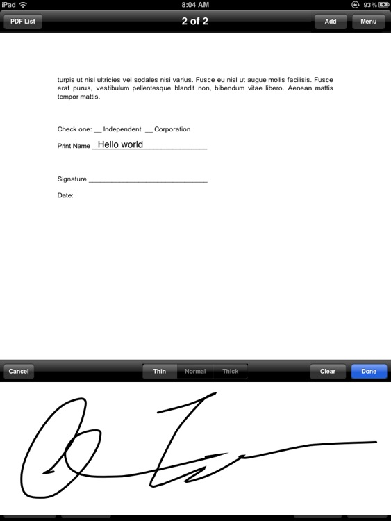 SignMyPad Lite screenshot-3