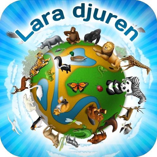 världen av djur för barn