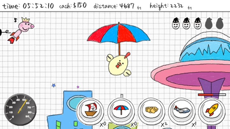 A Doodle Fly - Fly to Mars screenshot-4