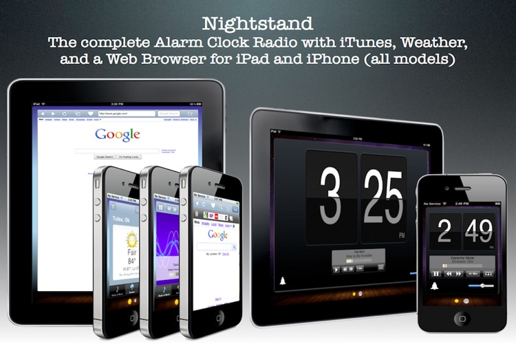 Nightstand - The Professional Alarm Clock