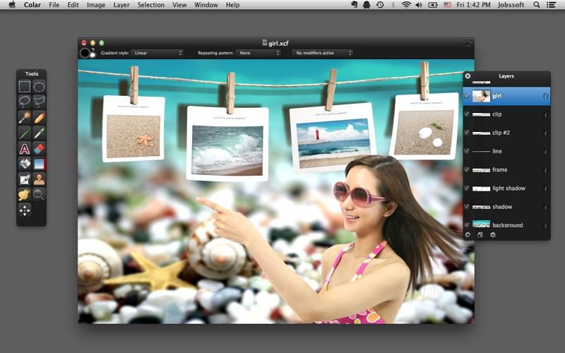 Colar - an Advanced Image Editor скриншот программы 1