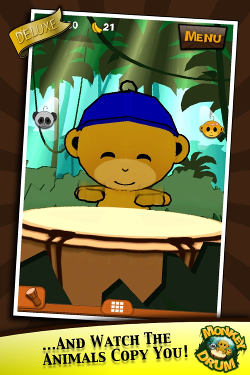 Monkey Drum Deluxe screenshot-4