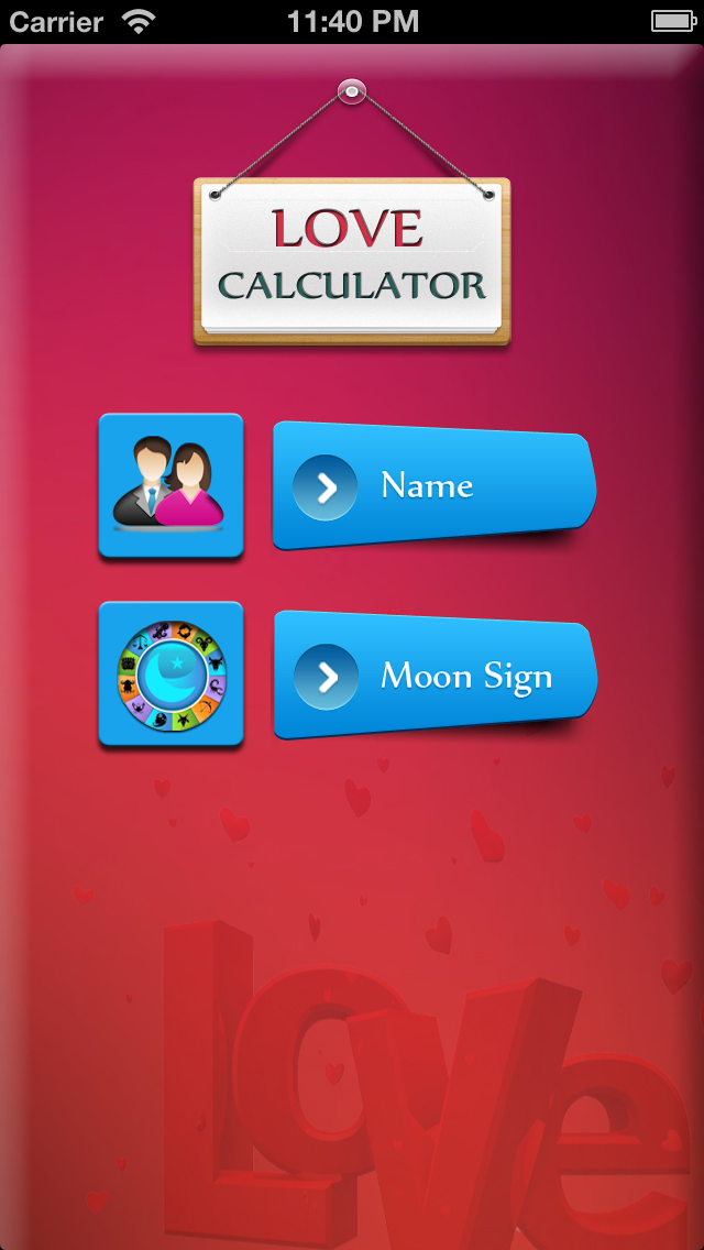 点击获取True Love Calculator