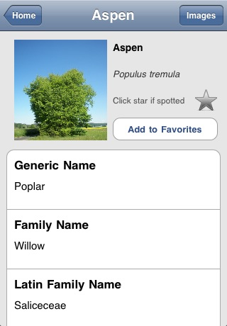 Tree Identifier screenshot-1