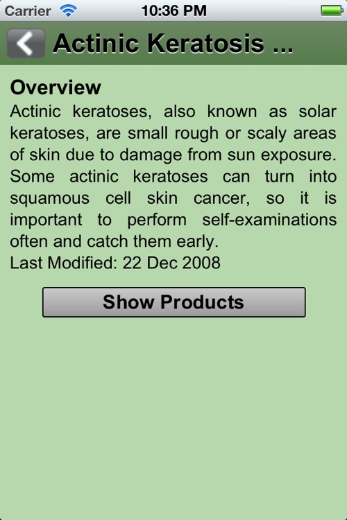 Skin Care - The app to recognize rashes, herpes, irritations etc screenshot-3
