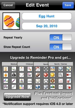 Reminder Free - Birthdays / Anniversaries screenshot-3