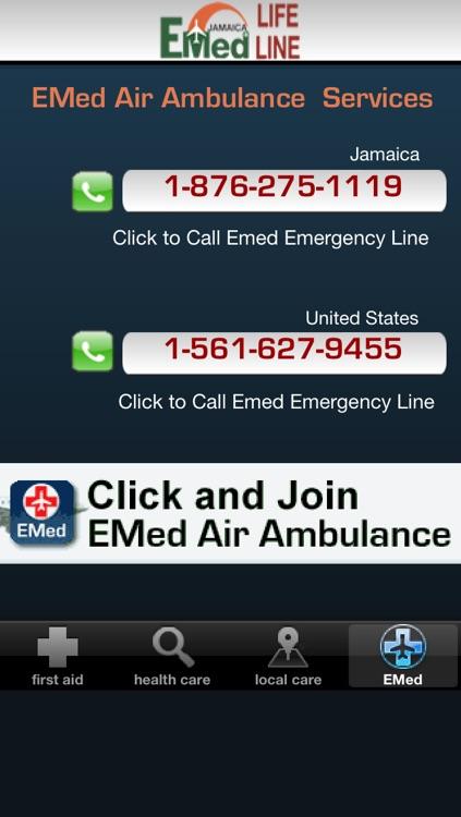EMED JAMAICA LIFE LINE screenshot-4
