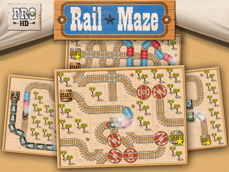 Rail Maze Pro HD screenshot-0