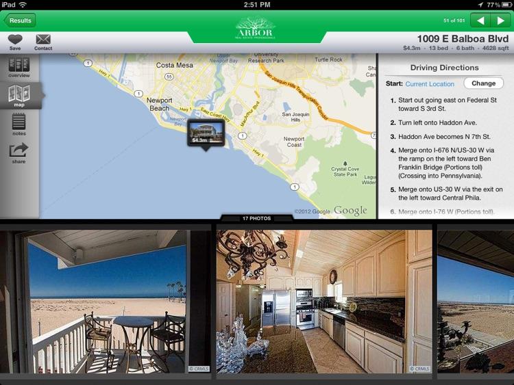 Arbor House Hunter for iPad