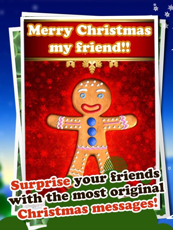 Talking Gingerbread Man HD screenshot-4