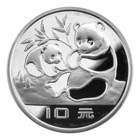 China Silver Panda Coins icon