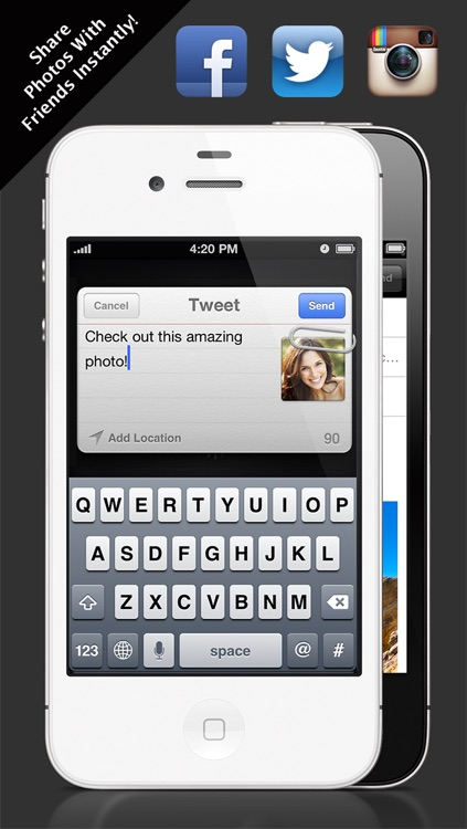 HD Camera - DSLR in your pocket! screenshot-3