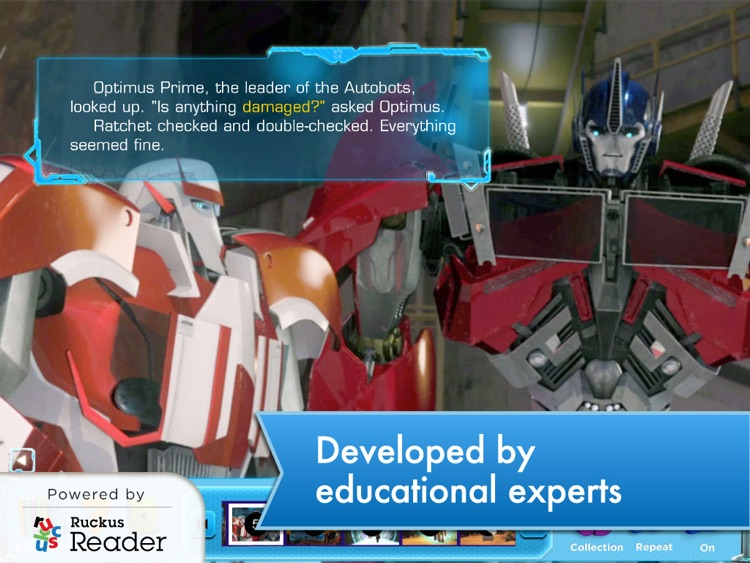 Transformers: Ruckus Reader screenshot-1