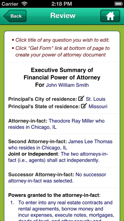 Power of Attorney screenshot-4