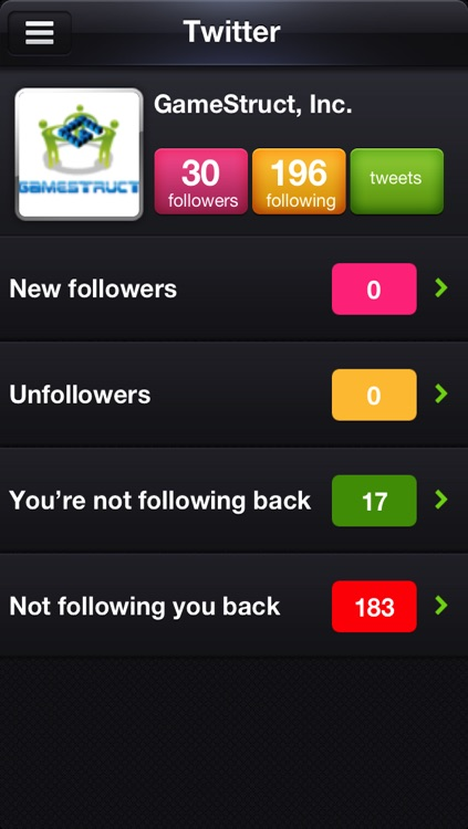 MyFollowers: 3 in 1! for Instagram, Twitter and Facebook