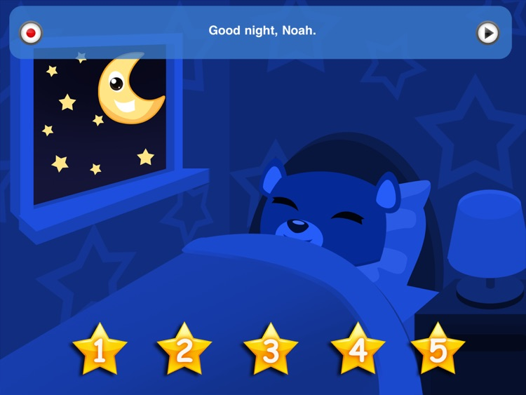 Bedtime Stories - Short Touch Book for Kids with Rockabye, Lullaby & Soothing Sounds screenshot-4