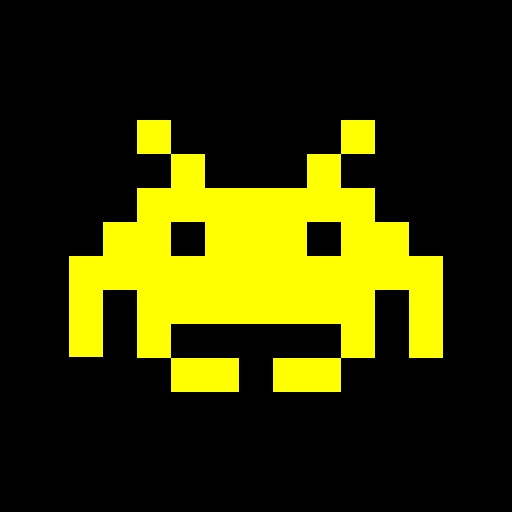 Space Invaders Flashlight