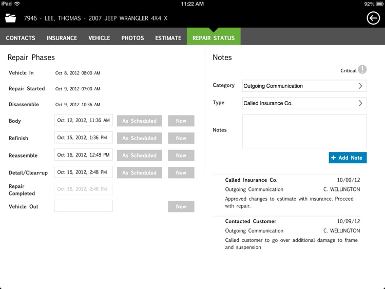 CCC ONE Tablet screenshot-4
