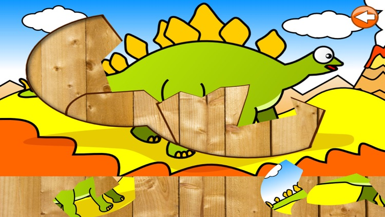 Dinosaur Puzzle for Kids screenshot-4