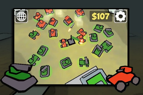 Tap Tanks - Doodle Style 3D RTS screenshot-1