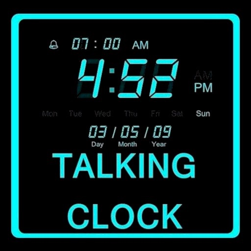 Shabbat Clock (Talking Version)