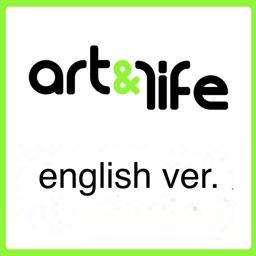 art & life entertainment event agenda in Greece, English version