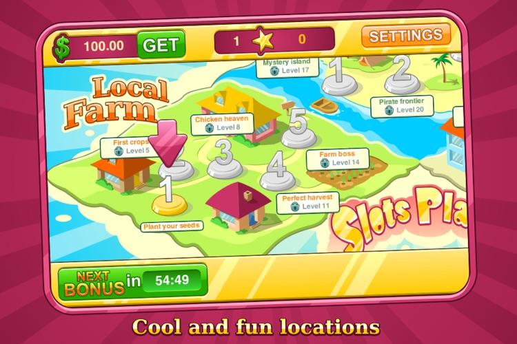 Slots Planet — Free Addictive Video Slots