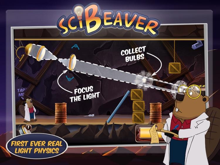 SciBeaver Adventures HD screenshot-0