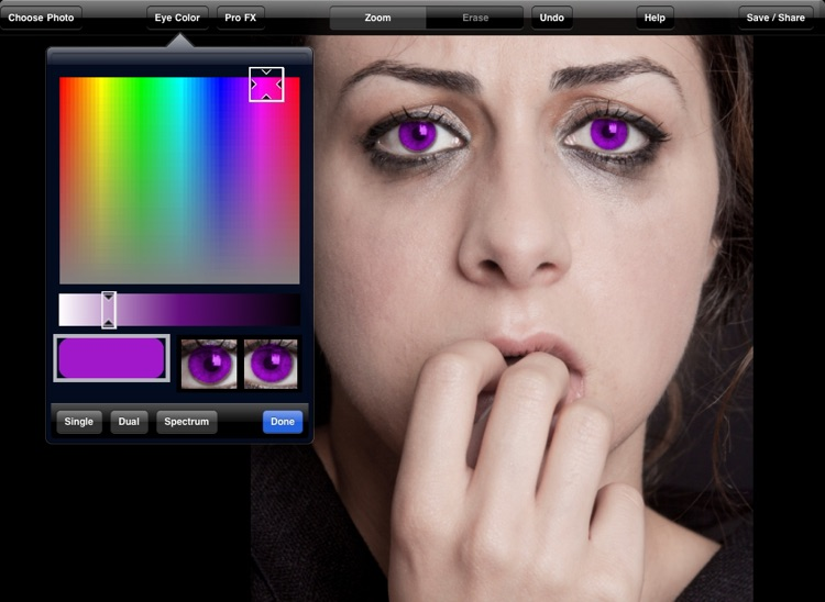 Eye Color Booth HD - Multicolor Eye Changer screenshot-3