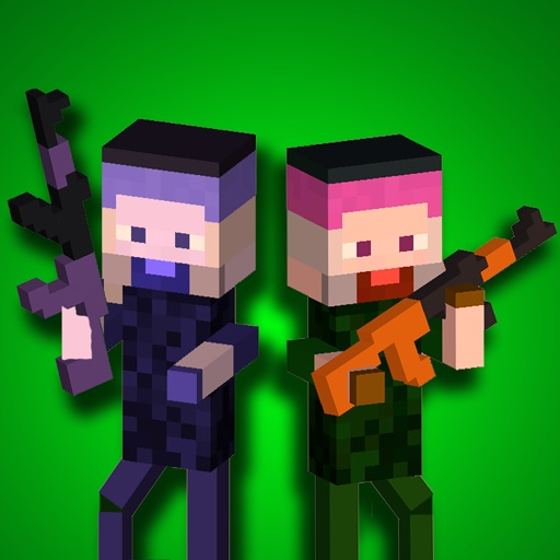 Block Force: World Warfare With Cube Builder & Multiplayer