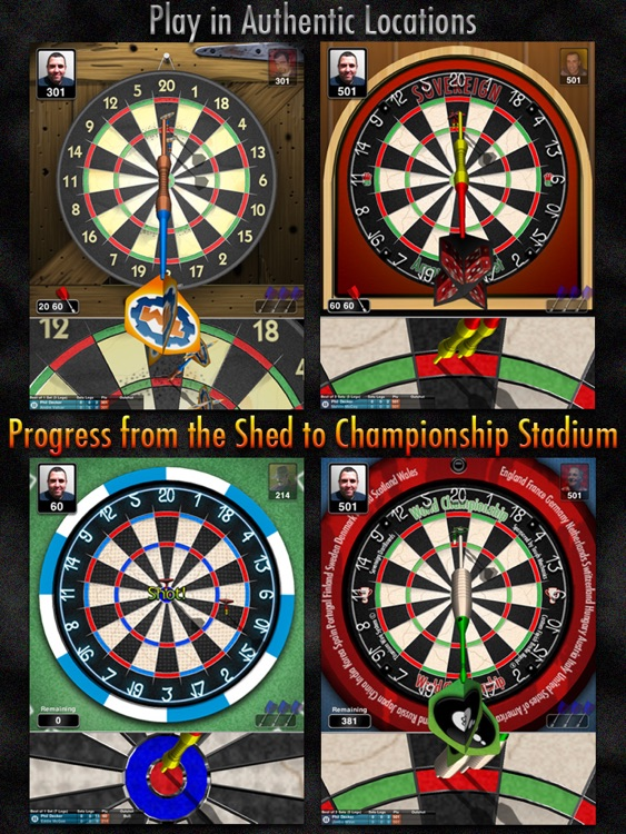 Bulls i 3D Darts HD screenshot-3