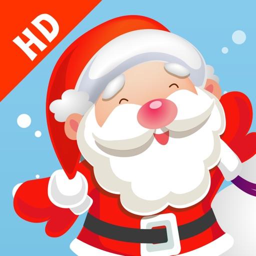 Gioco per i bambini in età 2-5 sul Natale: puzzles e giochi per la scuola materna, scuola materna o asilo nido con Babbo Natale, renne Rudolph, doni, e un sacco di neve. Gratis, nuova, apprendimento, divertimento!!