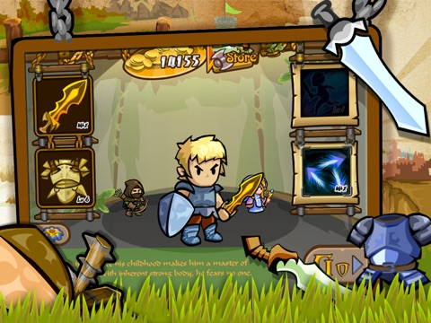 Glorious Quest HD на iPad